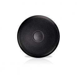 """Fusion 10"""" XS Series Subwoofer Classic Black and White (NO LED) - Black Grill"""