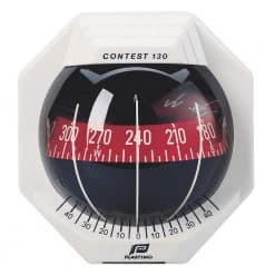 Plastimo Compass Contest 130 - White / Red Card