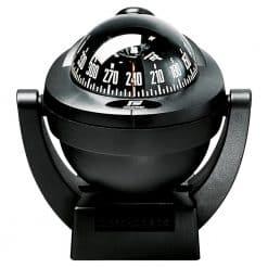 Plastimo Offshore 75 Compass - Bracket Mount Black