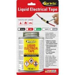 Starbrite Liquid Electrical Tape Black 118ml - Image