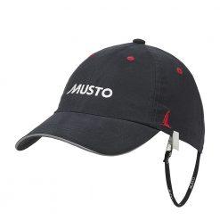 Musto Fast Dry Crew Cap - Black