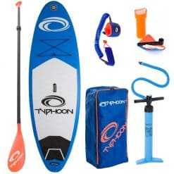 """Typhoon SUP Inflatable Stand Up Paddle Board 10' 2"""" - Image"""