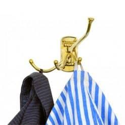 Hook Brass 4 Way Folding - Image