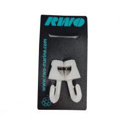RWO Hook 4mm White Open - Image
