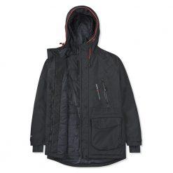 Musto Biome BR1 Jacket For Women - Black / Fire Orange