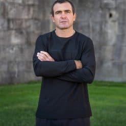 Musto Evolution Newport OSM EDYE Long Sleeve T-Shirt - Black