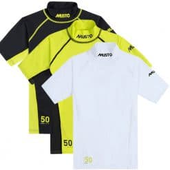 Musto Youth Championship Sunblock Short Sleeve Rash Guard - Image