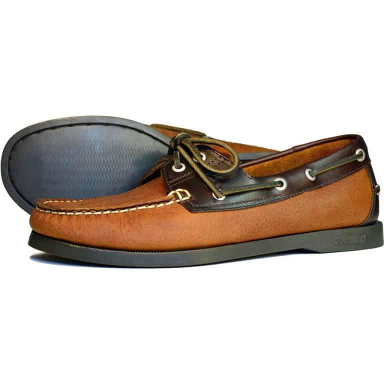 Orca Bay Oakland Deck Shoe for Men - Havana / Oak