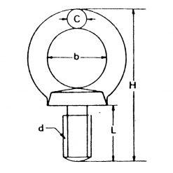 Proboat Eye Bolt Lifting - Image