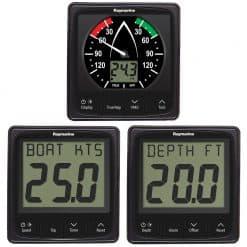 Raymarine i50 and i60 Pack Speed, Depth and Wind - Image